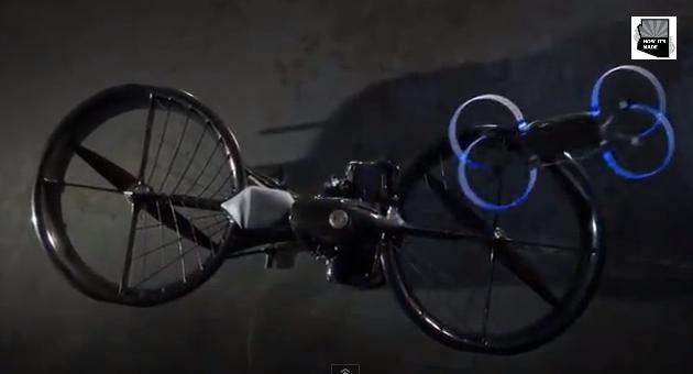 Hoverbike firmy Malloy Aeronautics