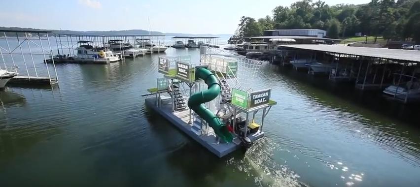 Mobilny park wodny - źródło: https://www.youtube.com/watch?t=57&v=ojGdQHIvAkA