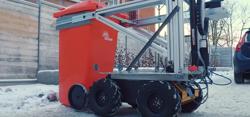 Robot-śmieciarka - źródło: https://www.youtube.com/watch?v=fNIV6Dcj29E