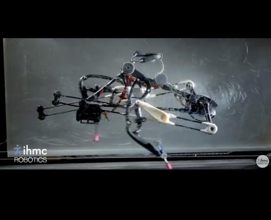 Biegający robot