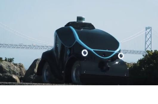 Robot patrolowy z dronem