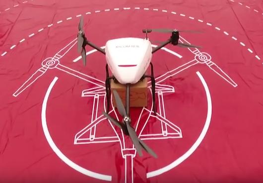 Dron transportowy