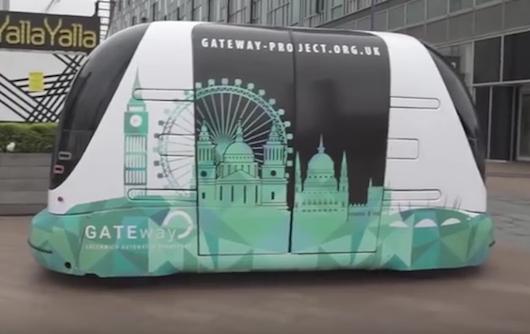 Autonomiczna maszyna przewiezie pasażerów