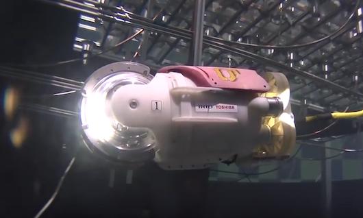 Robot w elektrowni