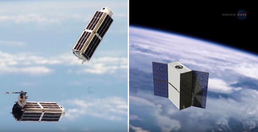 Satelity napędzane wodą