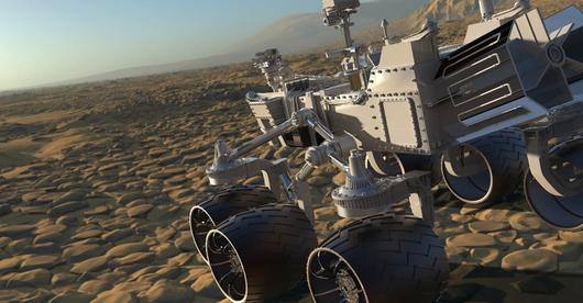 Pająk na Marsie