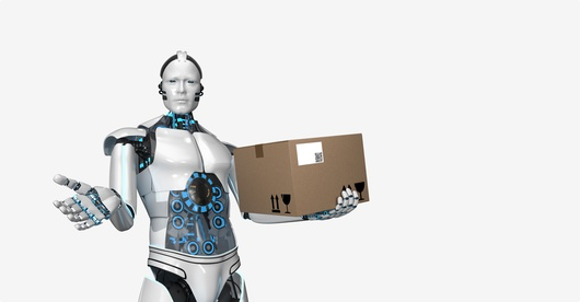 Autonomiczny kurier-robot