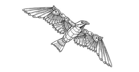 Ptak - robot
