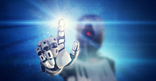 Robot ze wzrokiem i dotykiem