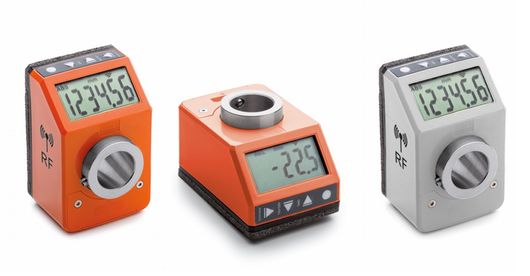 Elektroniczne wskaźniki położenia z radiową transmisją danych DD52R-E-RF