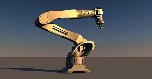 Sklep obsługiwany przez roboty