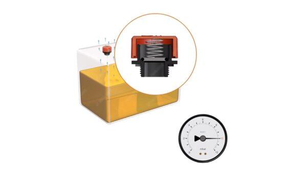 Wszystko o odpowietrzaniu zbiorników - część 2. Korki odpowietrzające z zaworami