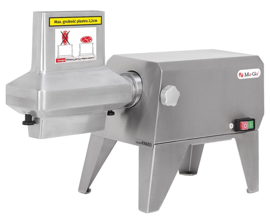 Kotleciarka do przetwarzania mięsa produkcji Ma-Ga, model KM20
