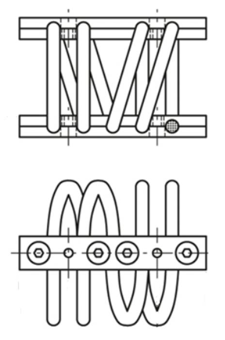 Rys. 2 Budowa wibroizolatora AVC