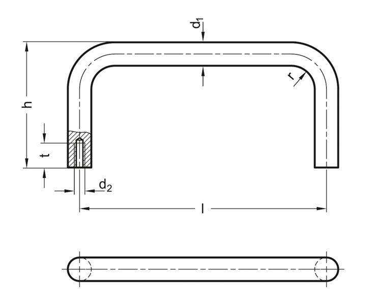 Uchwyt przeznaczony do montażu za pomocą śrub